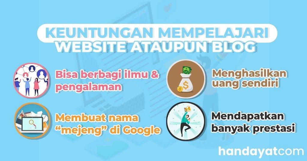 Inilah Keuntungan Membuat Blog atau Website di Era Digital! 2
