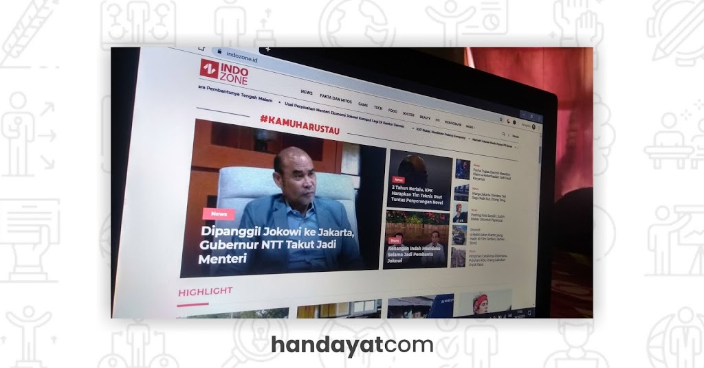 INDOZONE, Media Favoritku untuk Mengetahui Informasi Terbaru 5