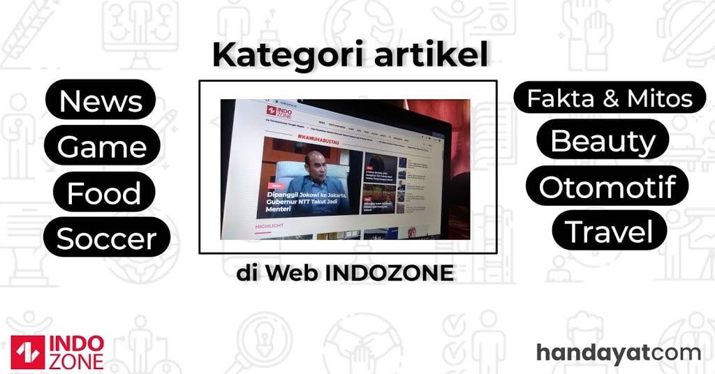 INDOZONE, Media Favoritku untuk Mengetahui Informasi Terbaru 7