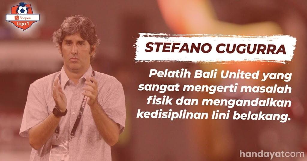 Stefano Cugurra Pelatih Bali United