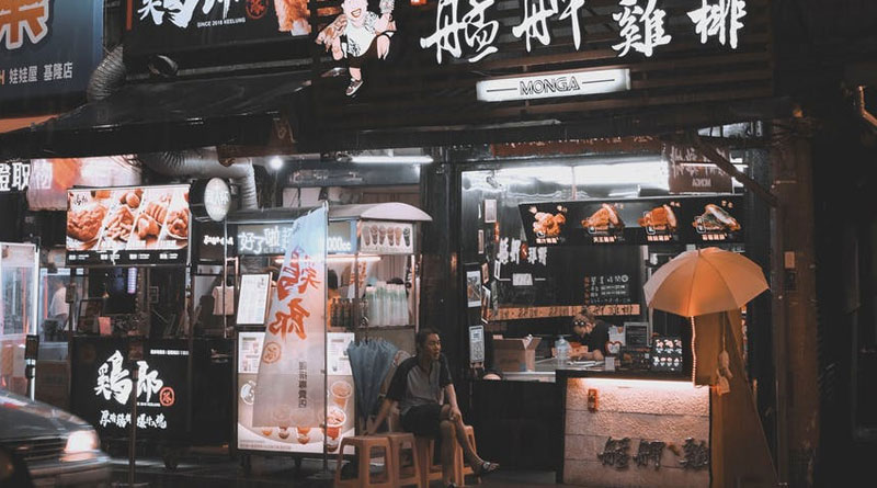 How to find Best Foods in London China Town at night 1
