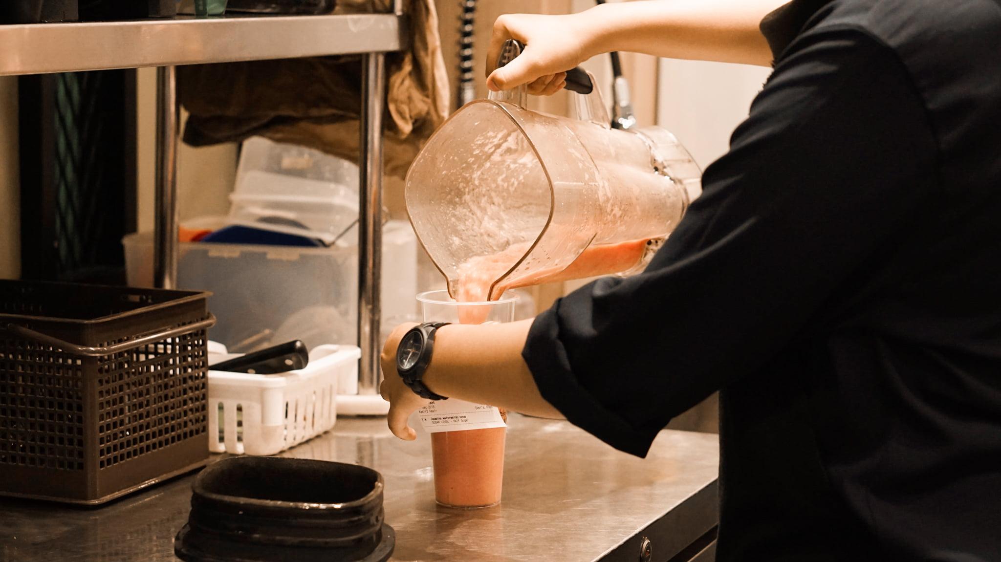 Pembuatan Tea Amo