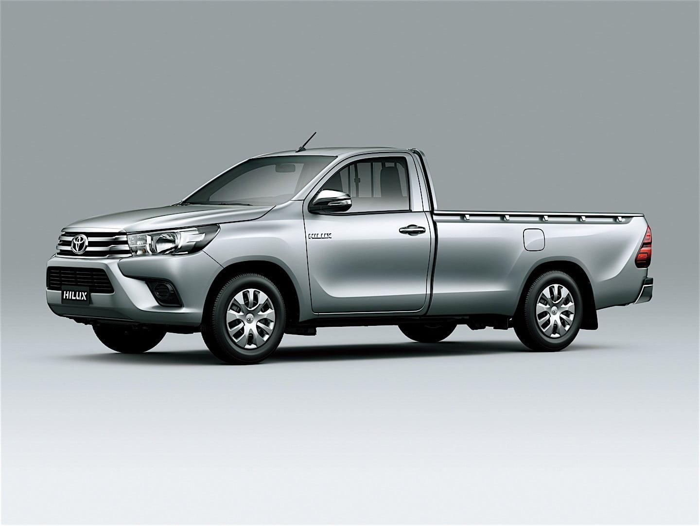 Dinilai Lebih Tangguh, Toyota Hadirkan New Hilux Single Cabin 13