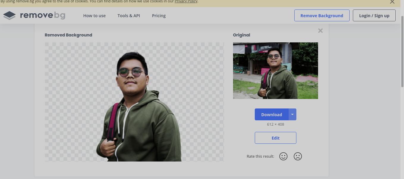 Cara Menghapus Background Pada Foto dengan Rapi Tanpa Photoshop 3