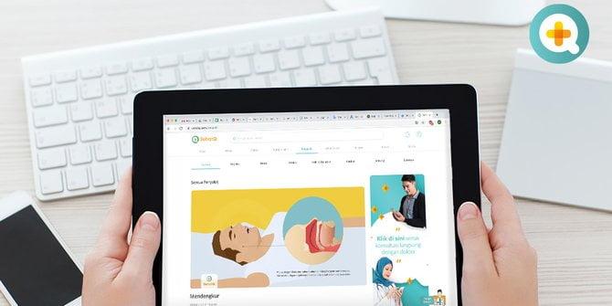 Dengan SehatQ.com, Hidup Sehat jadi Lebih Mudah 1