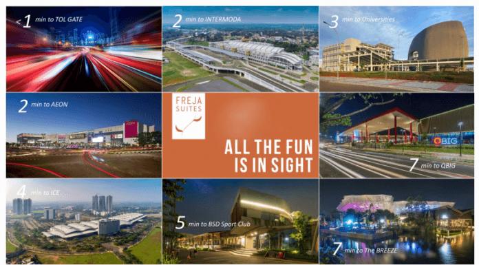 Freja Suites BSD City, Hunian Ideal bagi Keluarga Milenial 5