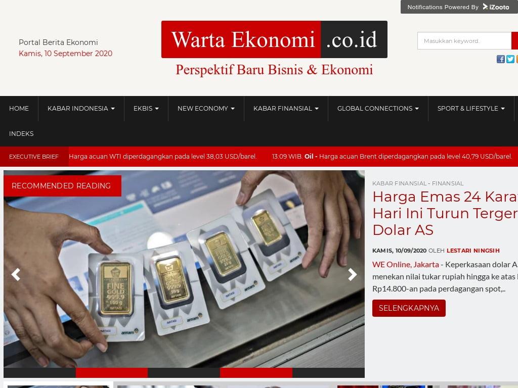 Apa itu WartaEkonomi.co.id?