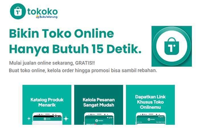 Buat Toko Online Semakin Mudah dengan TOKOKO