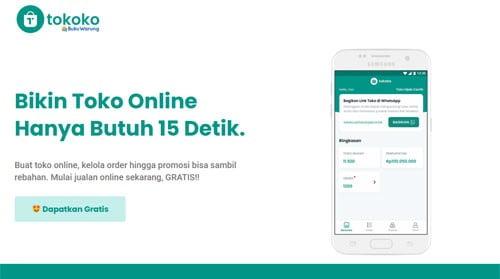 Cara Mulai Toko Online di Aplikasi TOKOKO