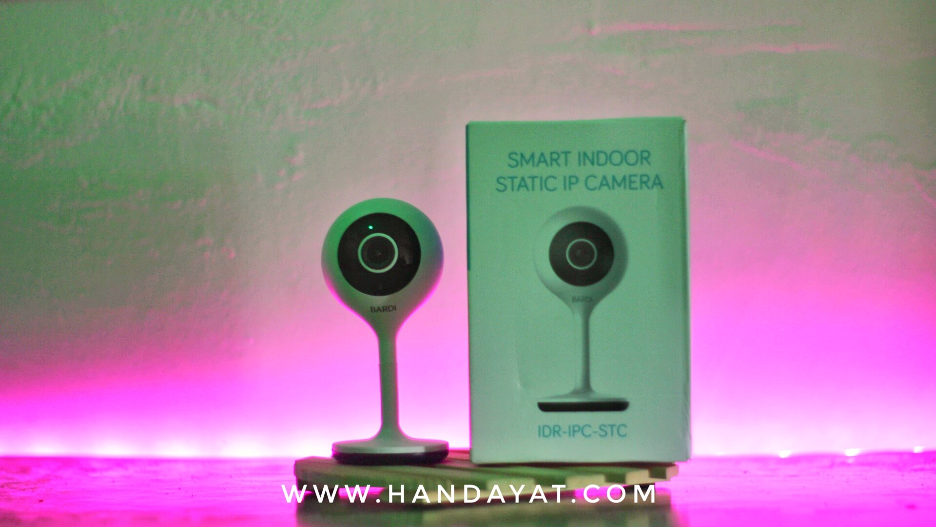 Bardi Smart Indoor Static IP Camera