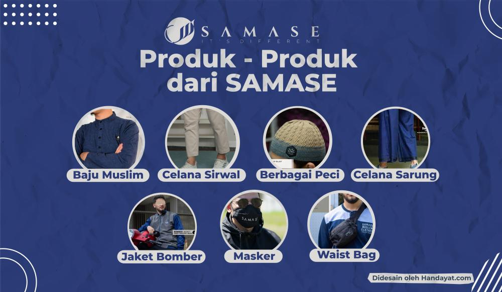 Mengenal SAMASE, Brand Lokal Fashion Muslim Pria Terbaik 5